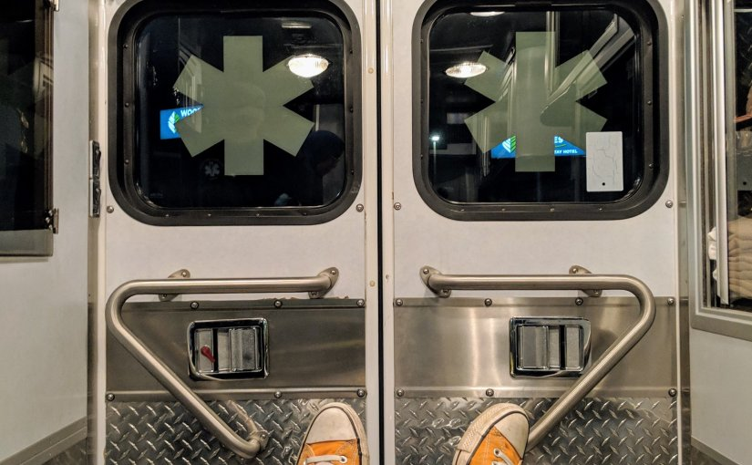 That One Time I Panicked So Hard I Took An Ambulance To TheER
